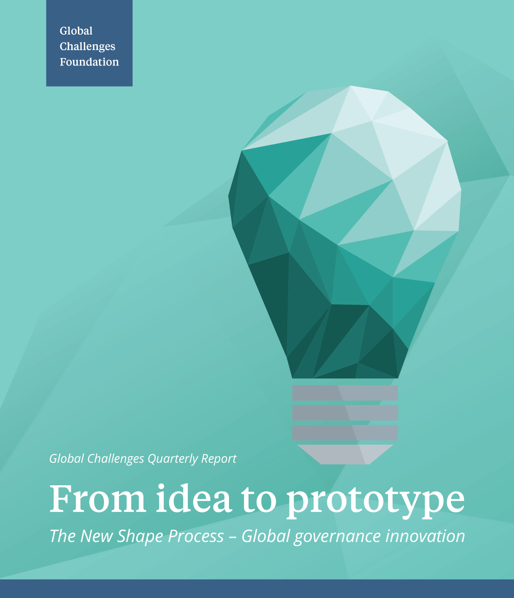 The New Shape Process – Global governance innovation